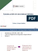 Legislaci├│n en seguridad minera ESAN ENRIQUE CABALLERO (1)