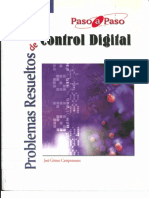 PROBLEMAS RESUELTOS DE CONTROL DIGITAL (jose gomez campomanes) $ 7.50 g