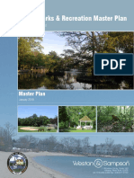 Darien Parks and Rec MasterPlan, Jan. 17, 2018