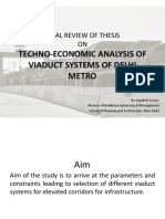Techno Economic Analysis
