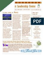 Fall 2007 Servant Leader Center of Toledo Newsletter