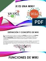 ¿Que es una wiki?