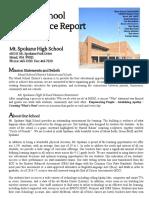 annual school performance report 2016-2017