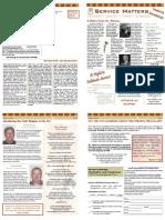 Summer 2008 Servant Leader Center of Toledo Newsletter