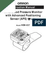 Omron Presion Manual Hem-637 - 2006 Im Eng1