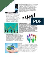 Tipos de Desarrollo y Operaciones Matematicas; Partes y Ejemplos