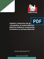 Informe Defensorial 177 18 Indulto y Derecho de Gracia