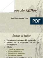 Clase 5. Cristalografia - Indices de Miller (1)