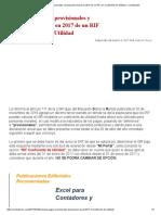 Calcular Los Pagos Provisionales y Declaración Anual en 2017 de Un RIF Con Coeficiente de Utilidad – ContadorMx