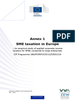 SME taxation in Europe