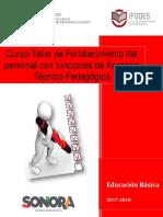 CUADERNILLO FINALTaller de Fortalecimiento del personal con funciones de Asesoría Técnico-Pedagogica (2).pdf