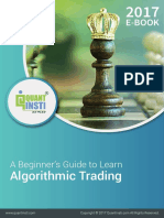 A Beginners Guide to Algorithmic Trading 2017