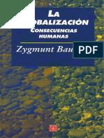 Bauman- La Globalización