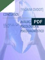 Yadaim ESQUEMA de ESTUDOS - Avaliação Psicológica