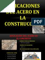 Aplicaciones Del Acero en El Concreto