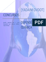 Yadaim Esquema de Estudos - Dependencia Quimica