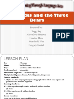 Lesson Plan goldilock