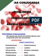 Aula 3 - Mioglobina, Hemoglobina, Anemia Ferropriva