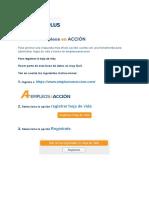 Manual de Empleos en Accion