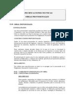 (Provisionals y Preliminares) Especificaciones Tecnicas-parte 1