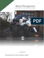 plastic waste management eindverslag