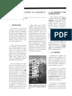 Estructuras Acero vs Concreto