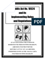 Ra 10524 and Its Irr - Booklet