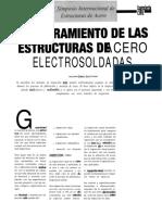 Aseguramiento de Las Estructuras de Acero Electrosoldadas