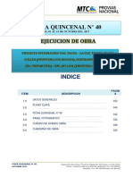 2.0  Indice - FQ N° 40