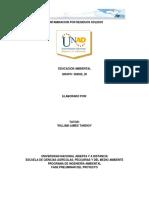 EDUCACION AMBIENTAL_ - FASE 4 Presentación Final Del Proyecto