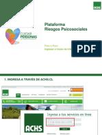 Instructivo Plataforma Riesgos Psicosociales