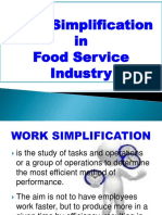 Work Simplification NEW