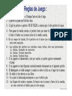 Reglamento General Torneo Escolar de Papi
