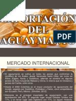 Exportación Del Aguaymanto