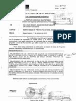 Informe Requere Tdr Ee.ss Ñunya Jalca y Otros