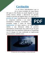 Cavitación y Descripcion Lagrangiana y Euleriana Docword