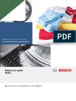 Manual Bosch Wan24160by