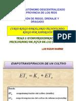 IV - Coeficiente de Cultivo