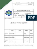 Plan Contingencia GWE
