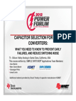 Avnet2012PowerForum_CapacitorsSelection