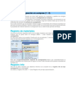 SAP MM Consignacion