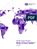 World Justice Project 2016