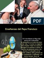 01 La Educación y La Alegría -Papa Francisco