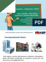 Costos, Conceptos y Formulas Basicas