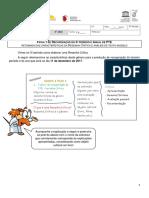 Ficha 1 de PTE - Revisão de Resenha Rec. Anual