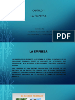 Presentaciòn Capitulo 1 La Empresa