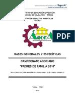 Campeonato de Papas Bases 2016