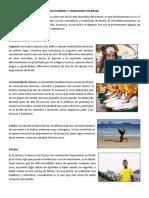 Costumbres y Tradiciones en Brasil