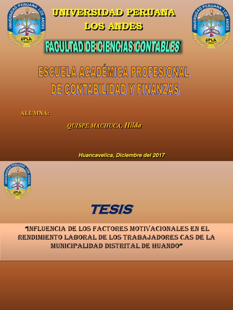 Diapositivas De Tesis Pptx