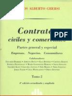 Ghersi, Carlos a. - Contratos Civiles y Comer CIA Les (Tomo II)